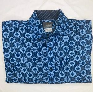 Thomas Dean Long sleeve dress shirt